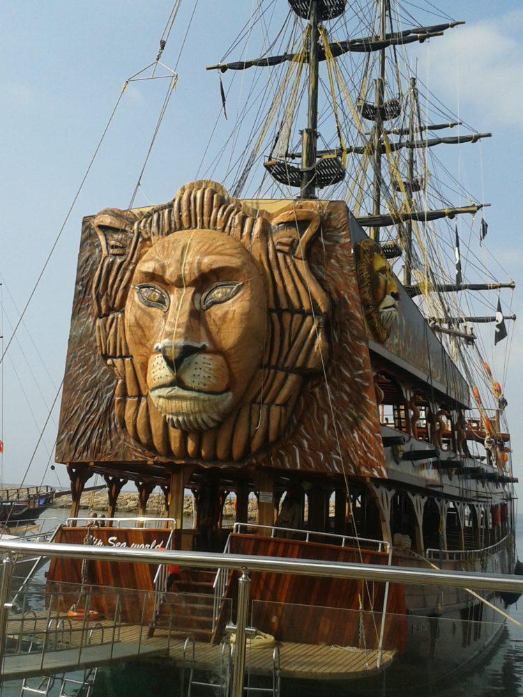 Морской порт Сиде