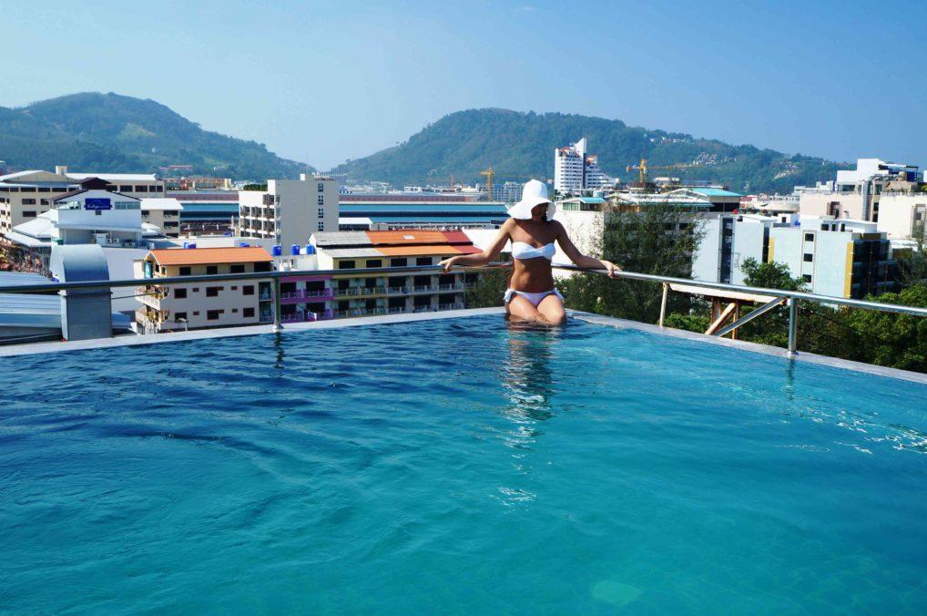 Таиланд бассейн на крыше