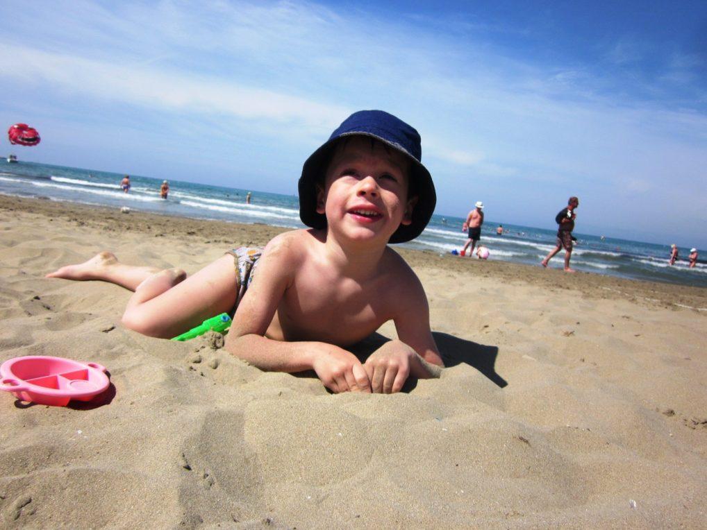 Пляж в Сиде для детей