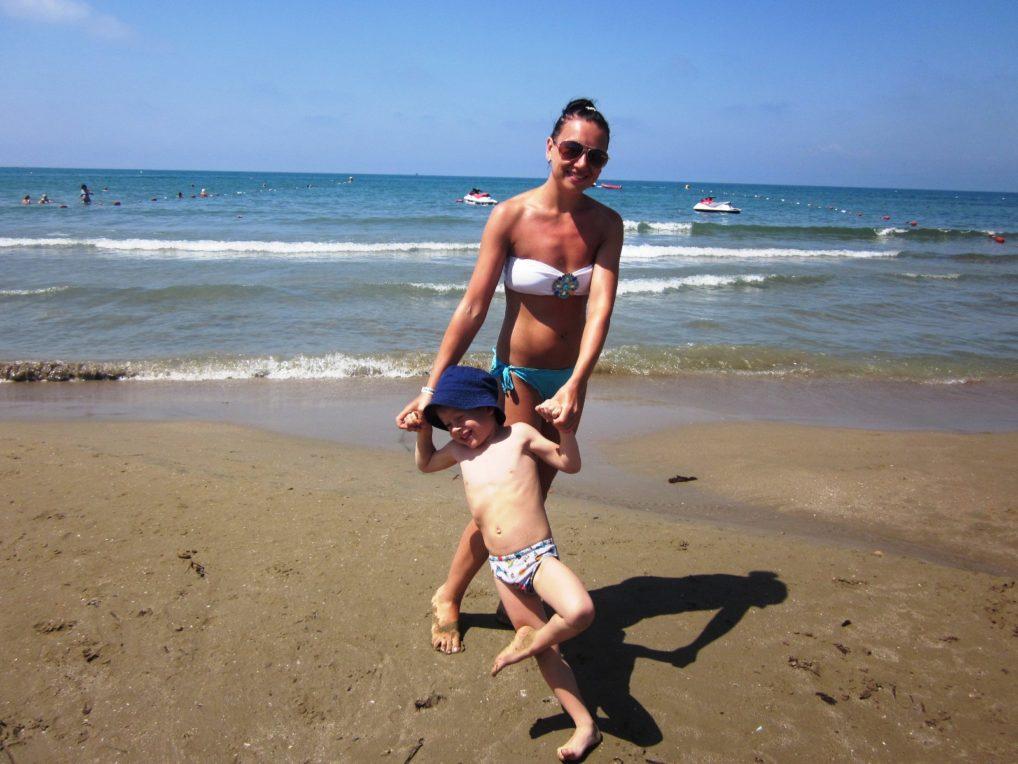 Пляж в Сиде