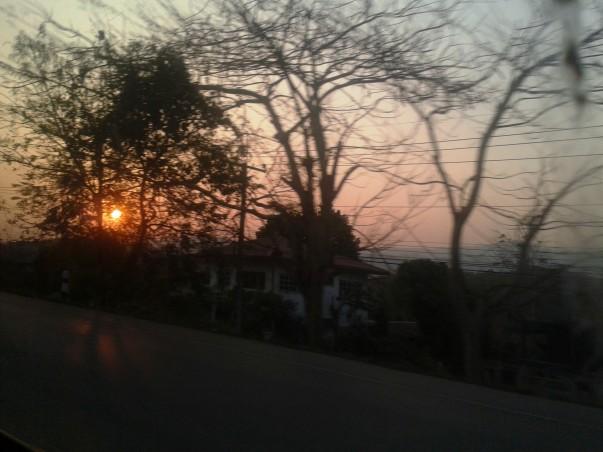 Дорога в Чианг Рай