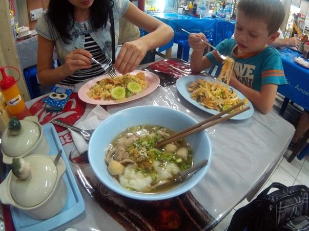 Тайская еда в Хуа Хине