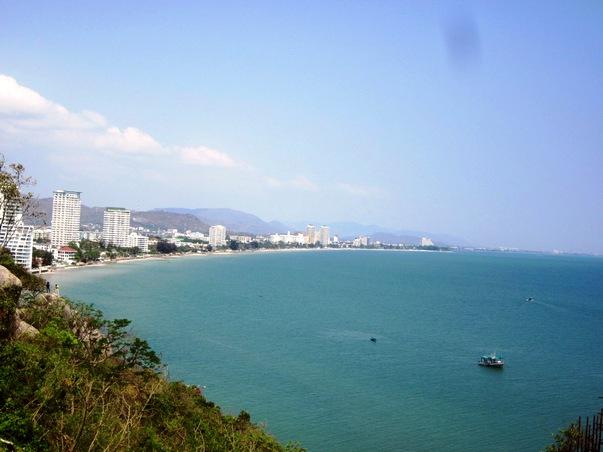 Вид на Хуа Хин с горы Такиаб