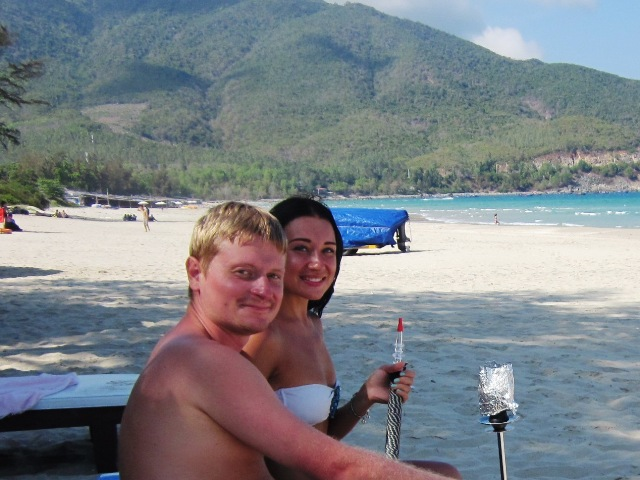 Пляж Бай Зай (Бай Дай) в нячанге