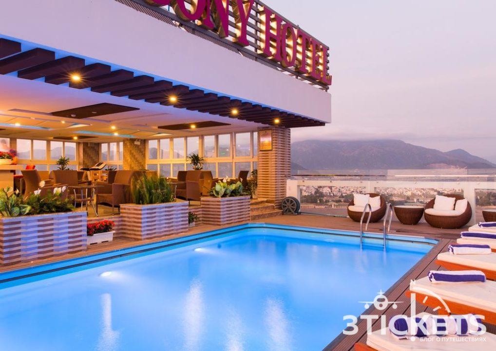 Отели в Нячанге рядом с Парком Горького: Balcony Nha Trang Hotel