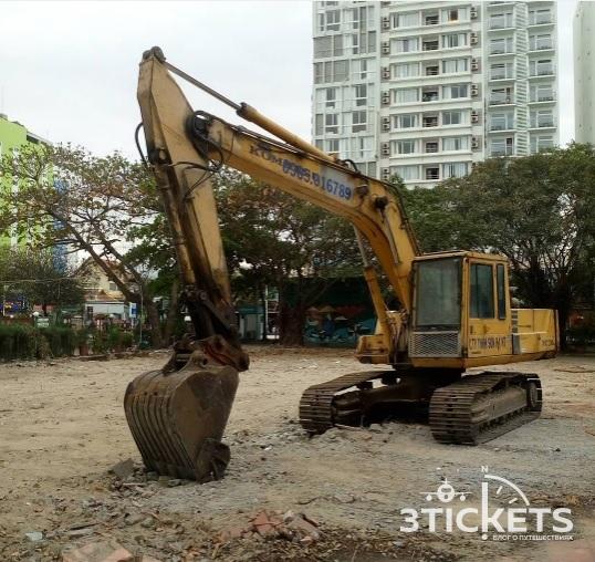 Парк Горького в Нячанге (Вьетнам): ремонт
