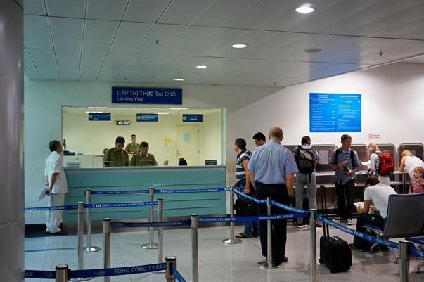 Оформление визы по прилету во Вьетнам