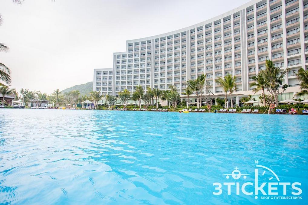 Отели в Нячанге, где нет волн зимой: Vinpearl Nha Trang Bay Resort