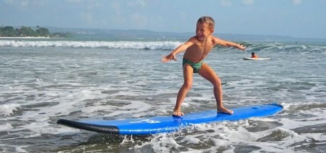 Обучение серфингу наБали для новичков: наш опыт