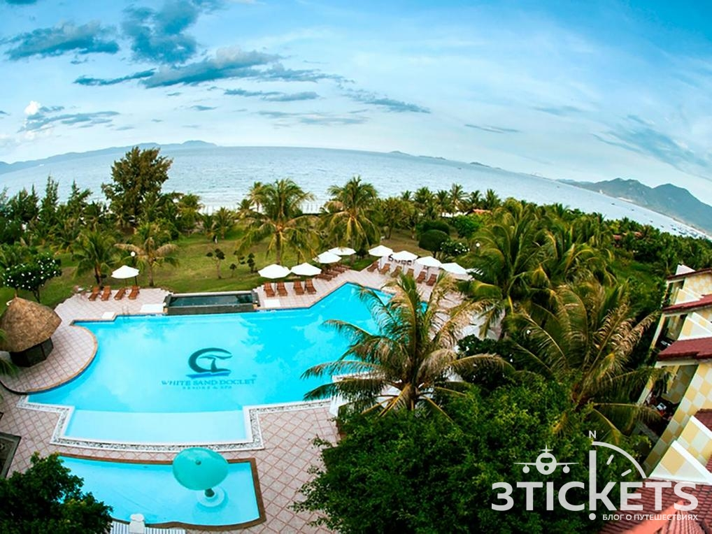 Отели в Нячанге, где нет волн зимой: White Sand Doclet Resort & Spa Nha Trang