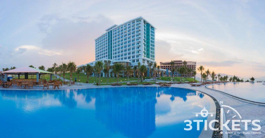 Отели в Нячанге, где нет волн зимой: Dessole Cam Ranh Pearl Resort
