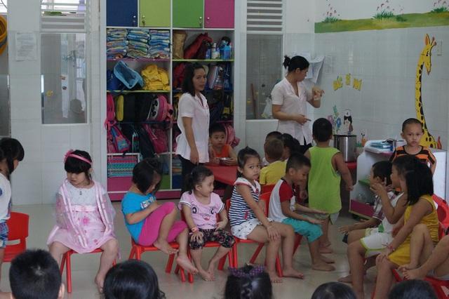 Вьетнамский детский сад в Нячанге