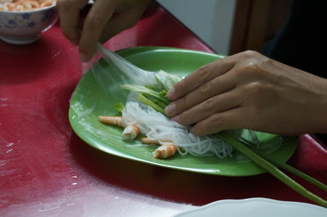 Как готовить спринг-роллы