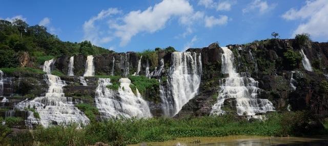 Водопад Понгур во Вьетнаме (Далат)