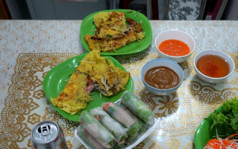 Вьетнамские блины Bánh xèo