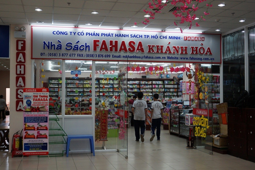 Магазины Fahasa в Нячанге