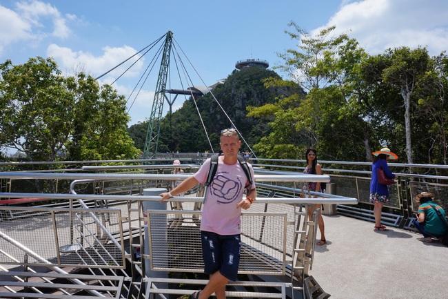 Небесный мост и канатная дорога на Лангкави (Малайзия)