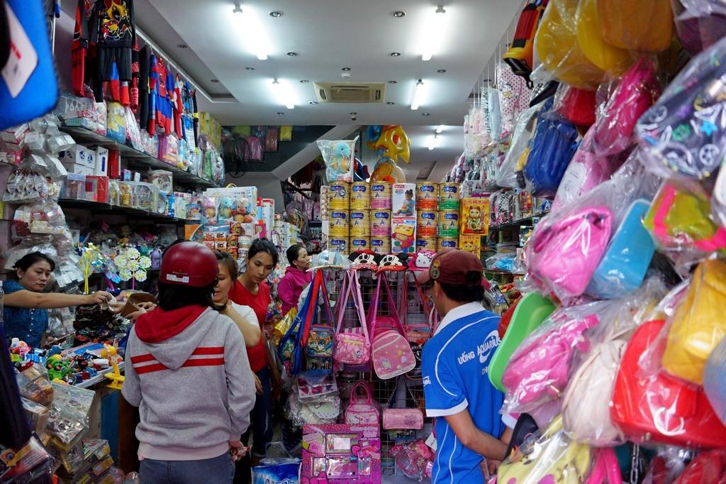 Магазин игрушек в Нячанге