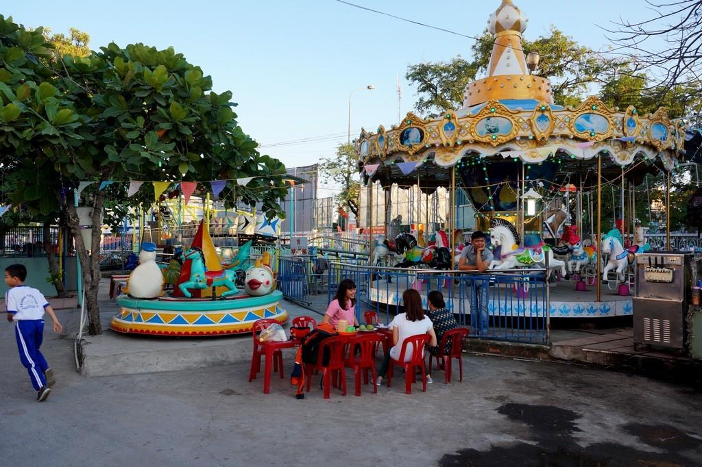 Парк аттракционов в Нячанге