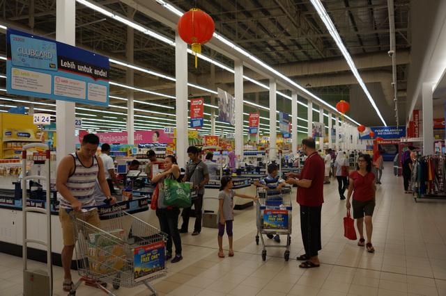 Супермаркет Теско на Пенанге