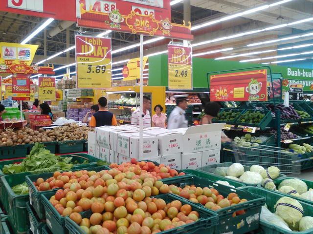 Помидоры $0,94 и белокочанная капуста $0,6 за кг