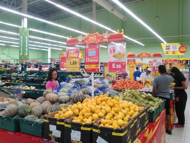 Тыква $0,45 и лимоны $0,21 за кг