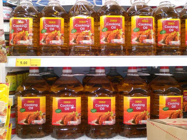 Растительное масло $2,17 за 5-литровую бутыль