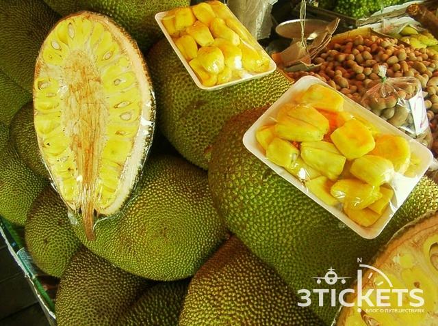 Тропические фрукты Азии: Топ-10 тропических фруктов Азии: джекфрут