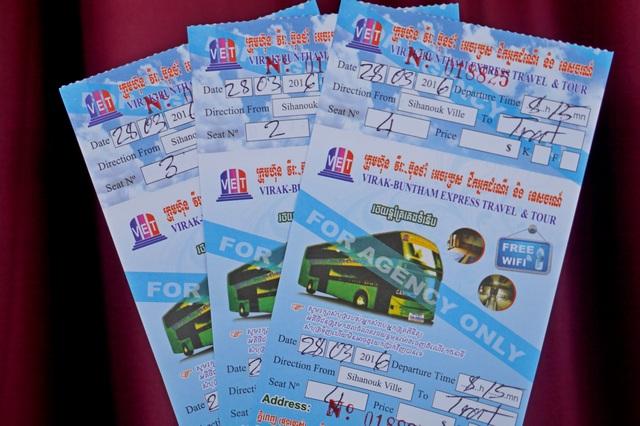 Билеты Сиануквиль - Трат