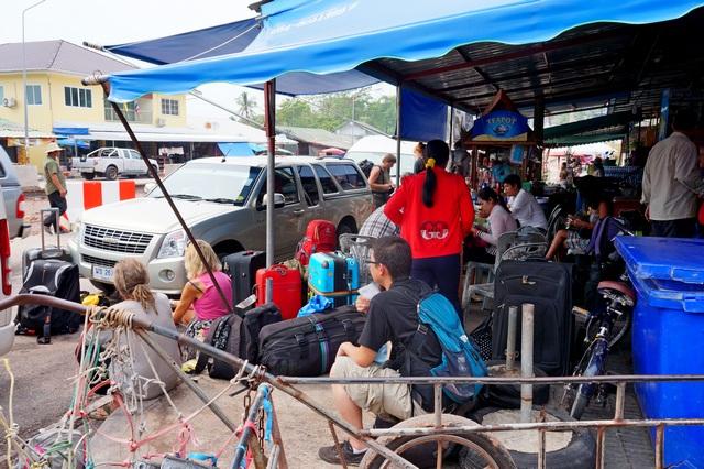 Тайская граница в Камбодже
