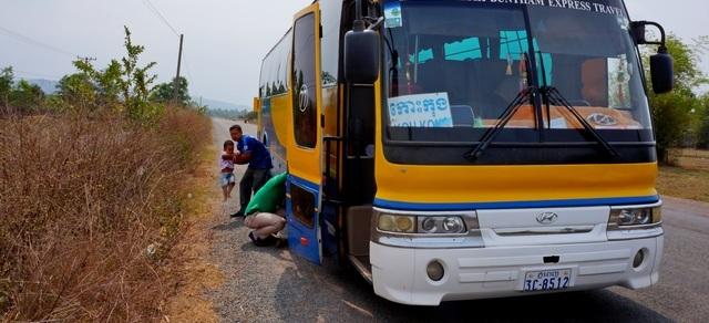 Как легко добраться изСиануквиля наКоЧанг через Трат наавтобусе