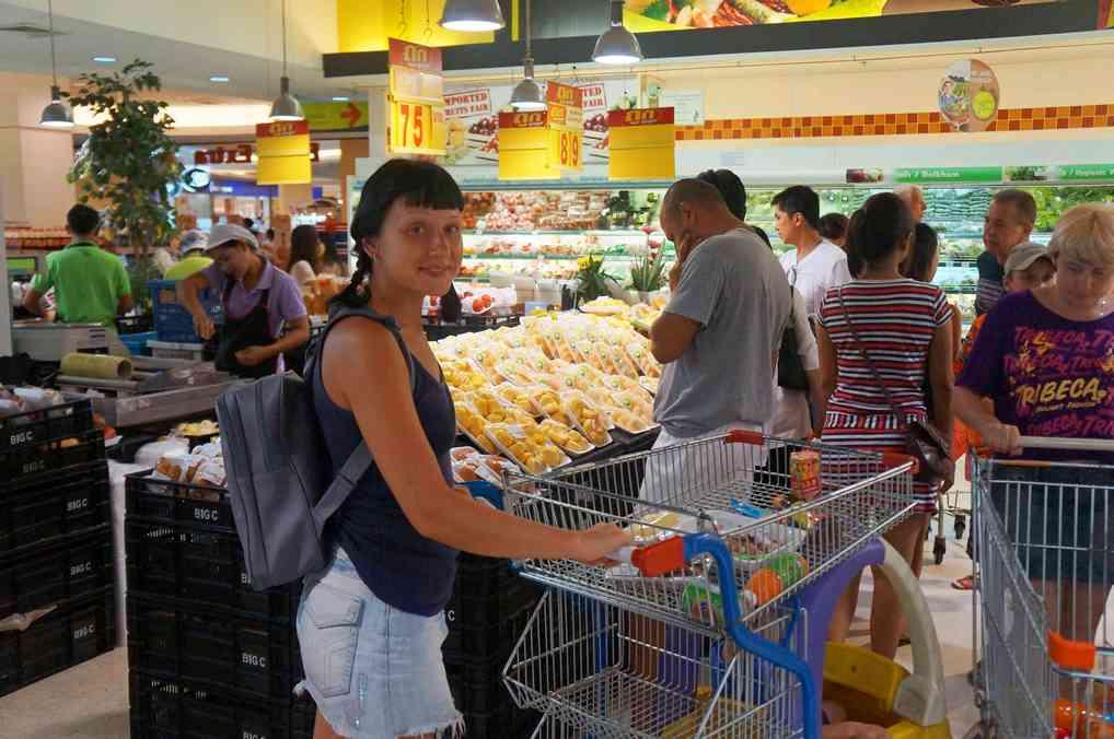Супермаркет в Паттайе