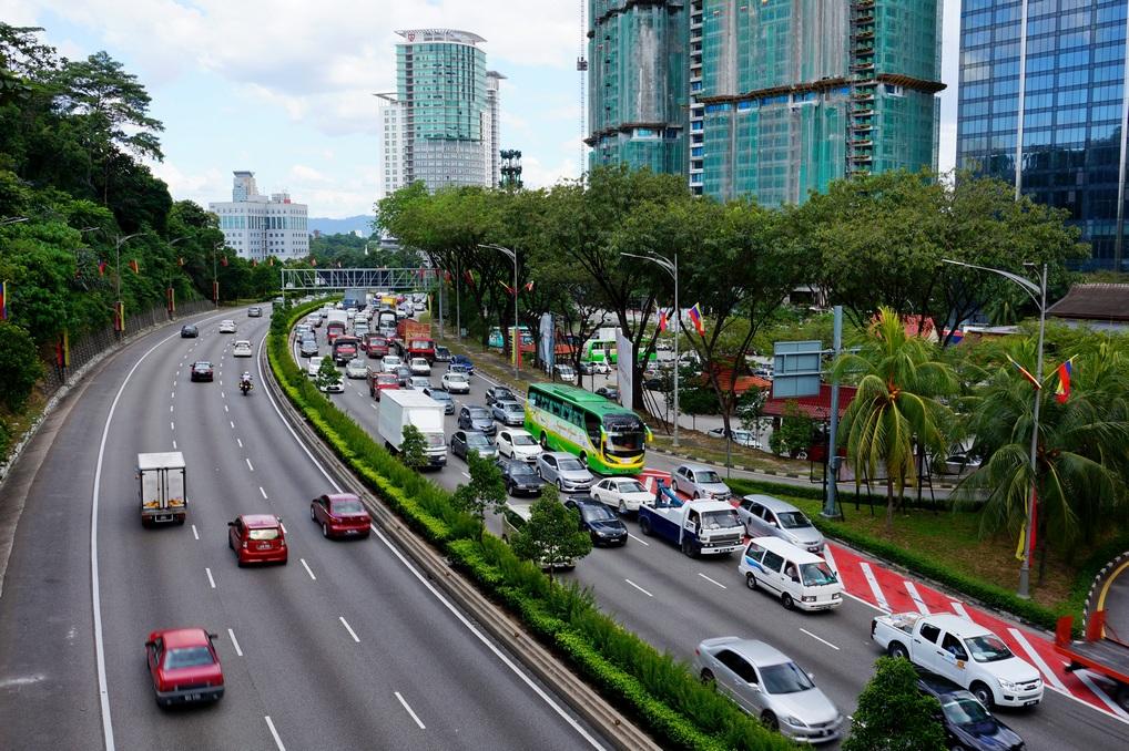 Трафик в Куала-Лумпуре