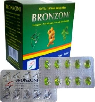 Bronzoni: таблетки от кашля во Вьетнаме