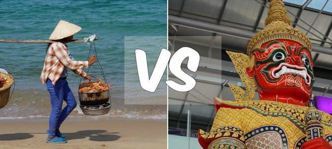 Куда лучше поехать назимовку иотдых: вТаиланд или Вьетнам?