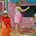 Детский сад и школа в Гоа (Арамболь)