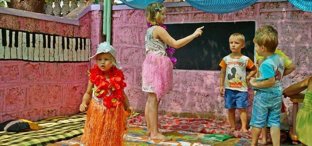Детский клуб Coco Villa вГоа или уроки под пальмой
