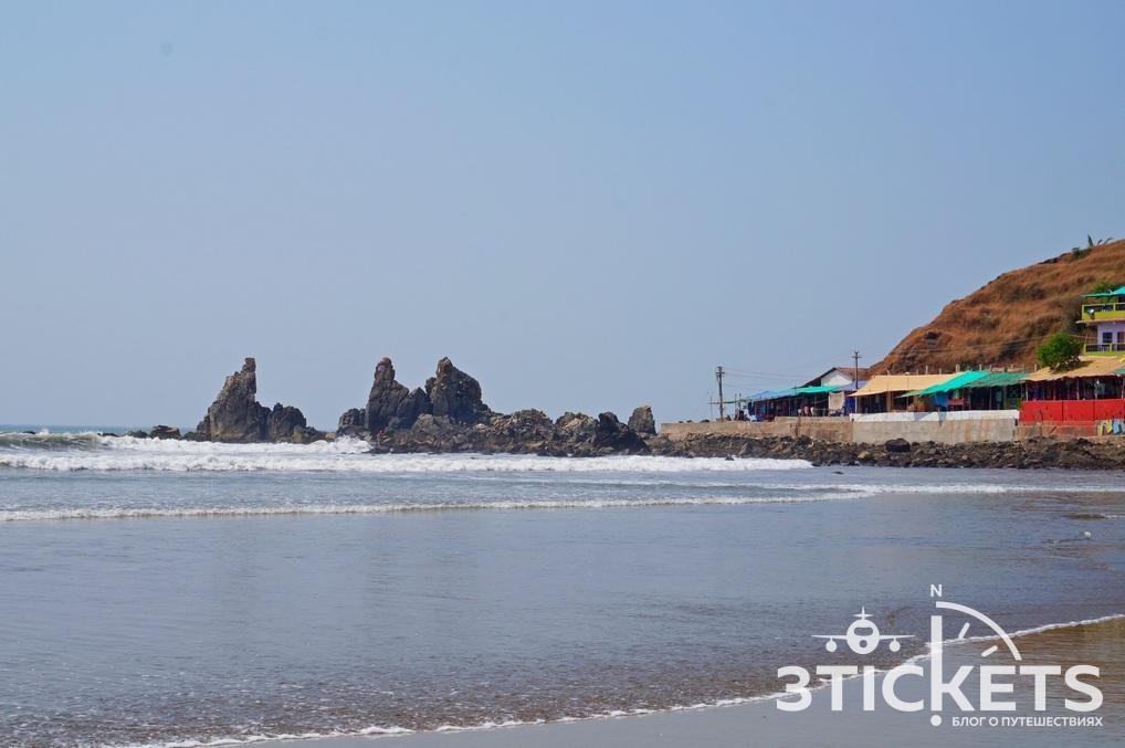 Пляж Арамболь, Гоа, Индия