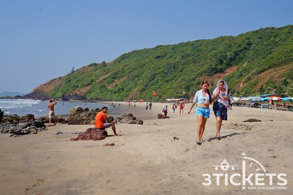 Пляж Калача, Гоа, Индия