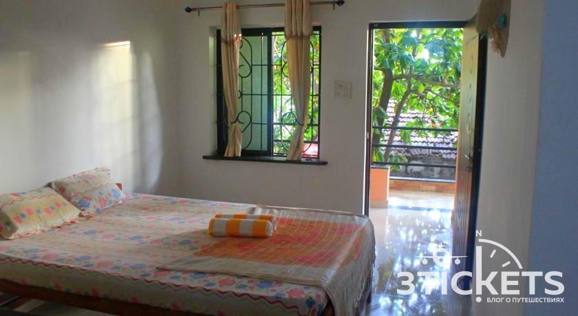 Cactus Guesthouse в Гоа