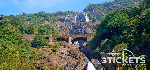 Экскурсия насамый красивый водопад вГоа икатание наслонах