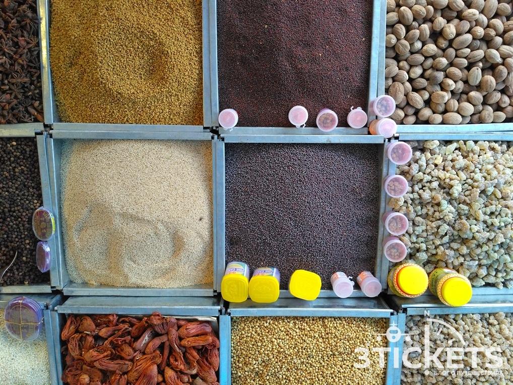 Пряности и специи в Индии
