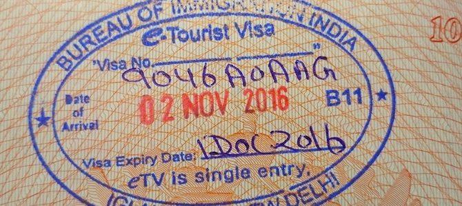 Оформляем электронную визу вИндию самостоятельно