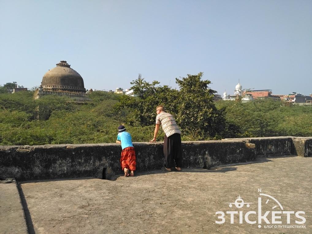 Гробница Rajon Ki Baoli и археологический парк, Дели (Индия)