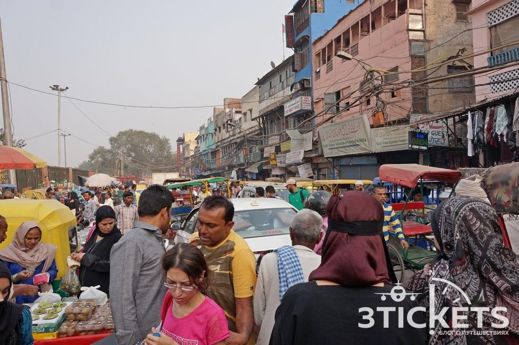 Улицы Дели (Индия): фото