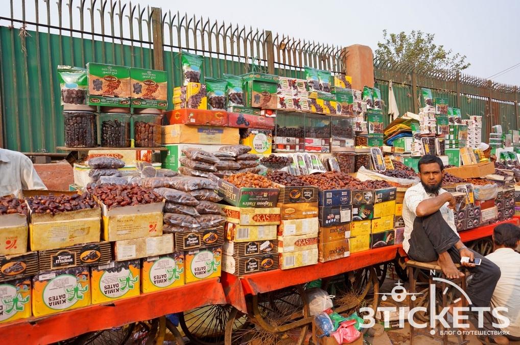 Улицы Дели: фото