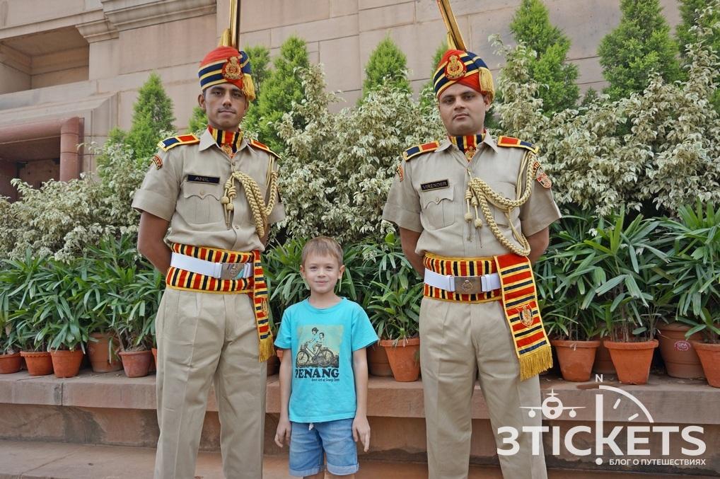 Ворота Индии, Дели: фото