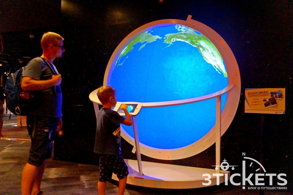 Куала-Лумпур с детьми: Petrosains Science Discovery Center