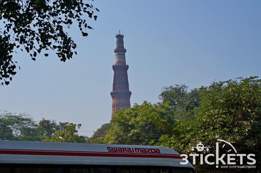 Кутб Минар, Дели (Индия): фото