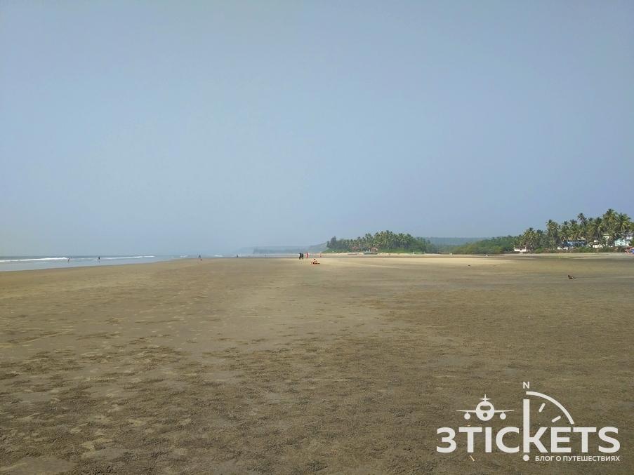 Пляжи Гоа: Мандрем (фото)